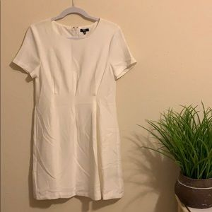 Lucca White Work Dress